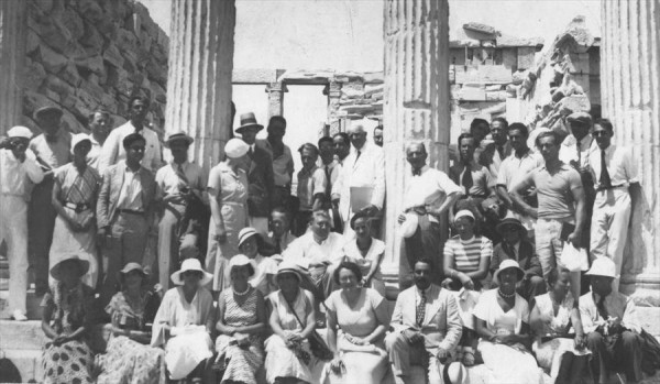 Participants at the CIAM IV in Athens, 1933 © FLC-ADAGP 900x524